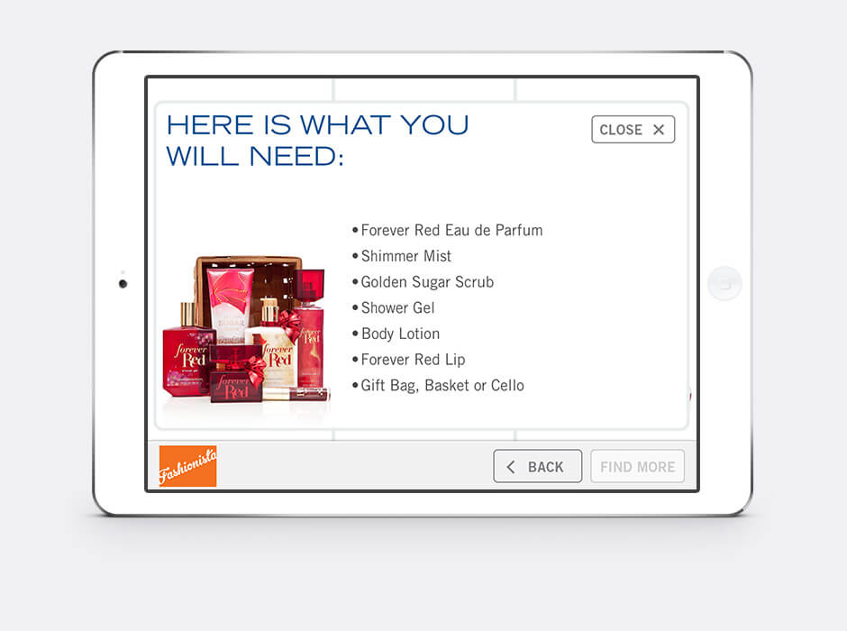 bath and body works gift application
